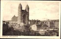 Postcard Ulm an der Donau Baden Württemberg, Blick auf die Garnisonkirche