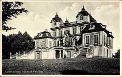 Postcard Ludwigsburg in Baden Württemberg, Blick auf das Schloss Favorite