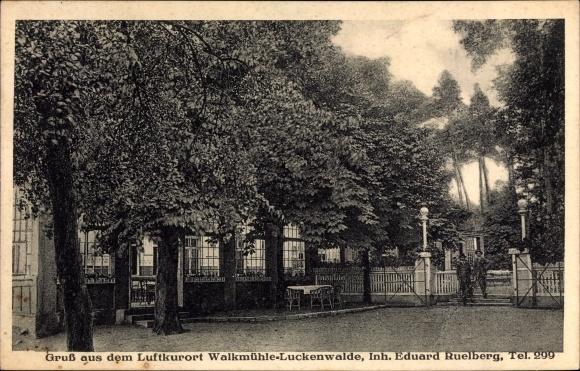 Ansichtskarte / Postkarte Nuthe Urstromtal Woltersdorf, Walkmühle ...