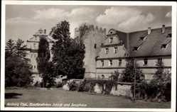 Postcard Amberg in der Oberpfalz Bayern, Kurfürstliches Schloss und Zeughaus