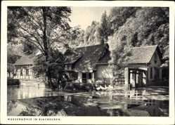 Postcard Blaubeuren Baden Württemberg, Partie an der Wassermühle