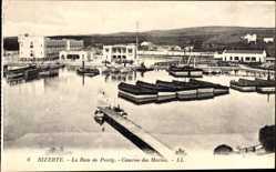 Ak Bizerte Tunesien, La Baie Ponty, Caserne des Marins, Kaserne, Levy & Fils 6