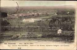 Ak Lalla Maghrnia Algerien, Source d'Ain Kerma, Infirmerie Indigene, Casernes