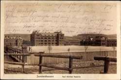 Ak Sondershausen Thüringen, Blick auf die Karl Günther Kaserne