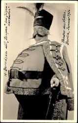 Foto Ak Schauspieler H. Berndsen, Zsupan, Zigeunerbaron, Theater, Kostüm