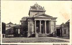 Judaika Ak Warszawa Warschau Polen, Ansicht der Synagoge, Synagoga