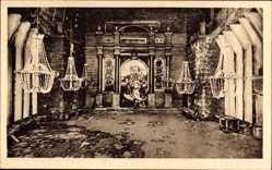 Postcard Wieliczka Groß Salze Polen, Die kammer Letow, Innenansicht