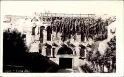 Postcard Split Kroatien, Porta Aurea, Goldenes Tor, Rankenbewuchs