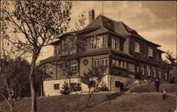 Postcard Postbauer Heng Oberpfalz, Blick auf Erziehungsanstalt Wurzhof, Fassade