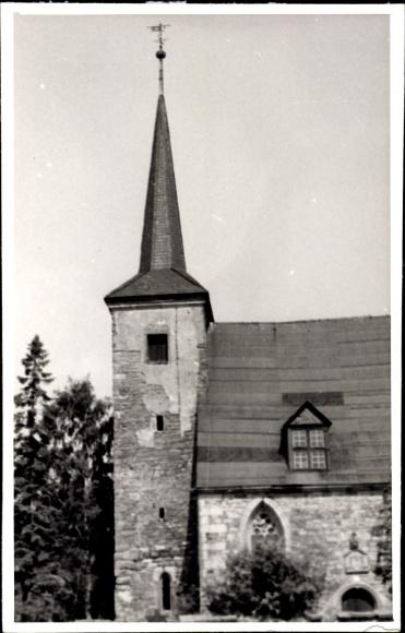 Tröchtelborn Kreis Gotha, Teilansicht der Ortskirche