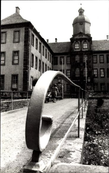 Friedrichswerth Kreis Gotha, Blick auf das Schloß