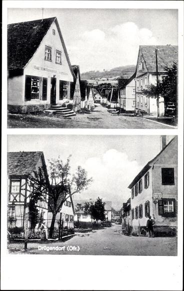 Drügendorf Eggolsheim im Regnitztal Oberfranken, Handlung v. Hch. Fuchs