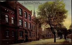 Ak Seifersdorf Żary Sorau Ostbrandenburg, Höhere Fachschule für Textilindustrie