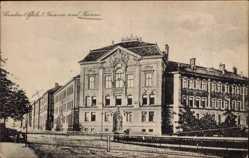 Ak Landau in der Pfalz, Blick auf die Kaserne und das Kasino
