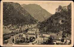 Postcard Zidani Most Steinbrück Slowenien, Panorama, Ortschaft im Tal