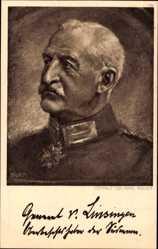 Künstler Ak Bauer, Karl, Generaloberst Alexander von Linsingen