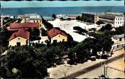 Ak Mostaganem Algerien, La Caserne Colonieu, Die Kasernen