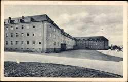 Ak Ellwangen a.d. Jagst, Blick auf den Hof der Kaserne