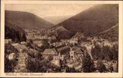 Postcard Bad Wildbad im Kreis Calw Baden Württemberg, Gesamtansicht