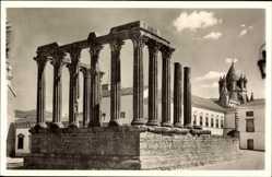Postcard Évora Portugal, Templo de Diana, Antiker Dianatempel