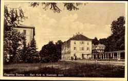 Postcard Rogaska Slatina Slowenien, Beli Kritz in Slatinski dom, Blick auf ein Gebäude