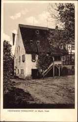 Postcard Murrhardt im Murrh. Wald, Partie am Ferienheim Hörschhof