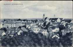 Postcard Bad Wörishofen im schwäbischen Kreis Unterallgäu, Blick auf die Stadt