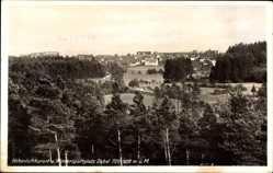 Postcard Dobel im Kreis Calw, Blick aus der Ferne auf die Ortschaft