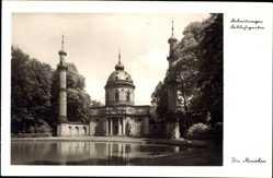 Postcard Schwetzingen im Rhein Neckar Kreis, Die Moschee im Schlossgarten