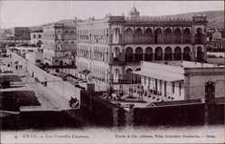 Ak Oran Algerien, Les Nouvelles Casernes, Blick auf die Neuen Kasernen