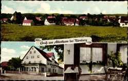 Postcard Altenthann bei Nürnberg, Gasthof zum weißen Kreuz, Paul Schmidt
