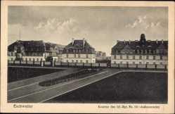 Ak Eschweiler in Nordrhein Westfalen, Kaserne des Inf. Rgt. No. 161