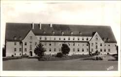 Ak Bad Bergzabern, Quartier du 24 Bataillon, Kaserne, Fenster
