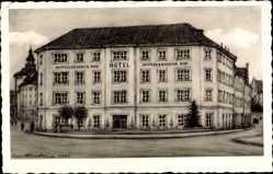 Künstler Ak Ingolstadt an der Donau Oberbayern, Hotel Wittelsbacher Hof