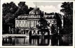 Postcard Ludwigsburg in Baden Württemberg, Blick auf das Schloss Monrepos