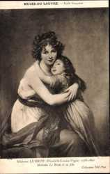 Madame le Brun et sa fille, ND 1131