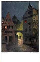 Fritz Bayerlein,  Im Laternenschein