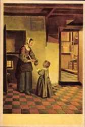 P. de Hooghe, De Kelderkamer