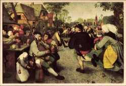 Pieter Breughel, Boerendans