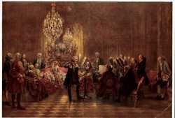 Menzel, Flötenkonzert Friedrich des Großen
