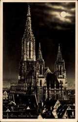 Münster bei Nacht
