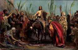 Leinweber, Einzug in Jerusalem