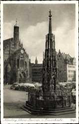 Schöner Brunnen, Frauenkirche