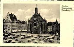 Hauptmarkt, Frauenkirche