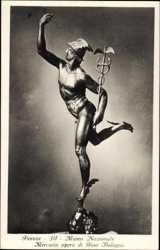 Mercurio opera di Gian Bologna, Museo Nazionale