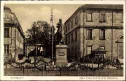 Jean Paul Platz, Denkmal