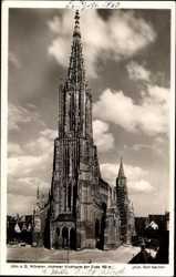 höchster Kirchturm der Welt