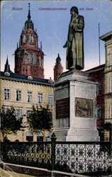Gutenbergdenkmal am Dom