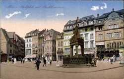 Marktplatz, Brunnen
