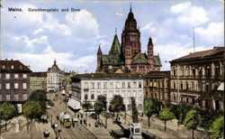 Gutenbergplatz, Dom
